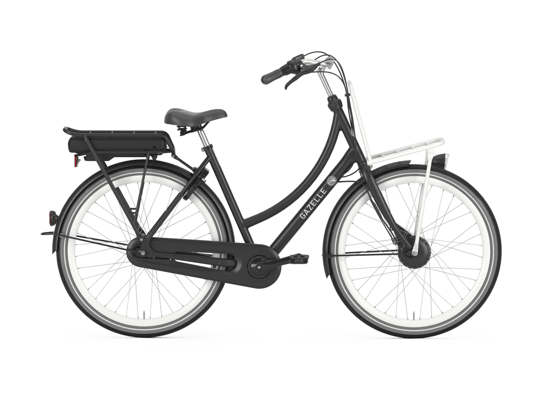Gazelle PuurNL HFB e-bike matzwart