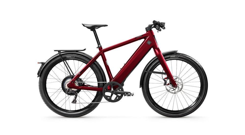 ST3 Anniversary Edition e-bike rood