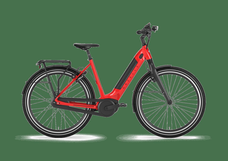 Gazelle Ultimate C8+ HMB e-bike rood