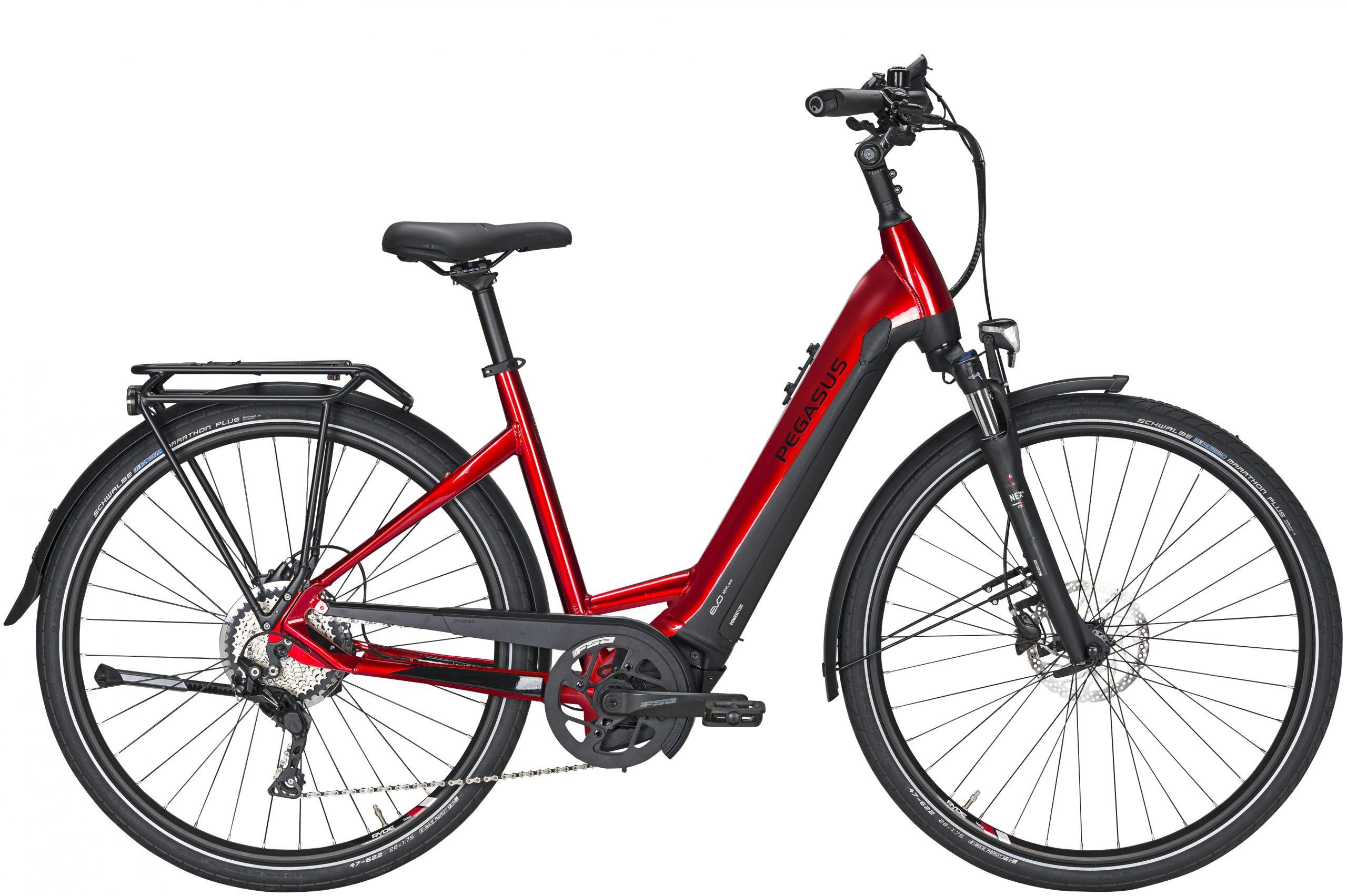 Pegasus Premio Evo 10 Lite e-bike rood