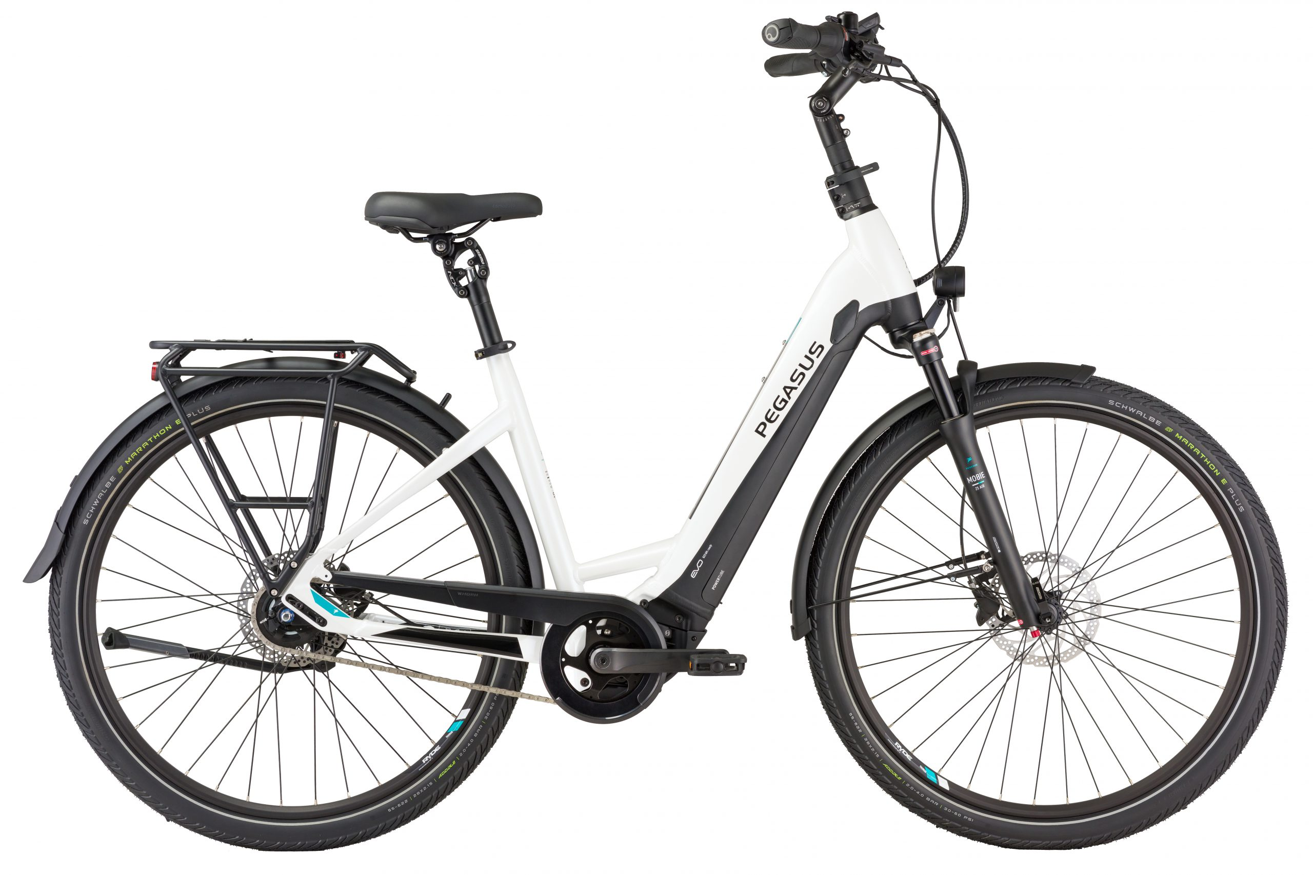 Pegasus Premio Evo 5 Lite Comfort e-bike wit
