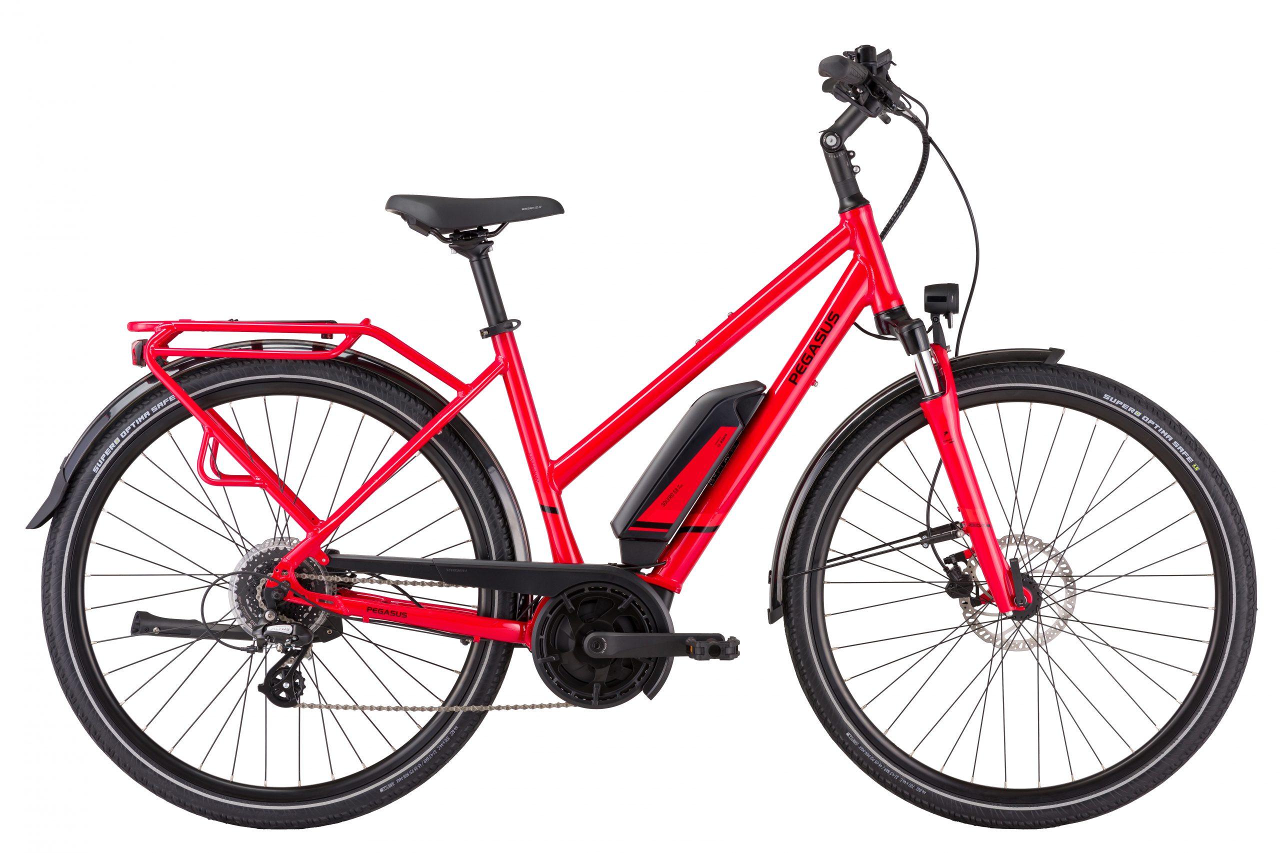Pegasus Solero E8 Plus e-bike rood
