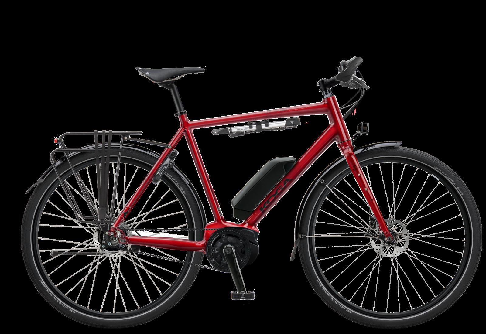 KOGA E-World Traveller-S e-bike rood